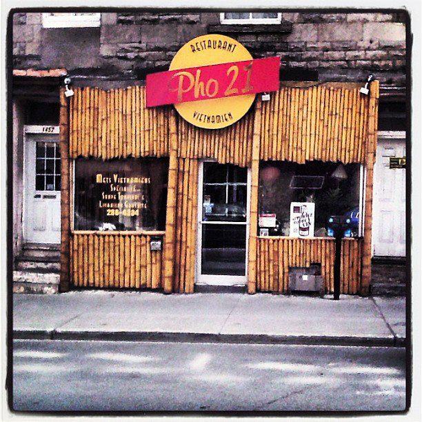 Restaurant Pho 21 Montréal