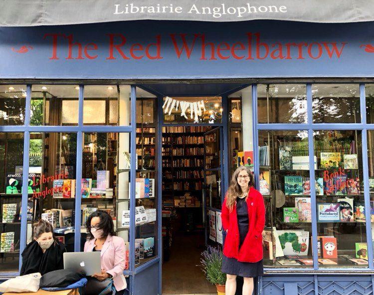 The Red Wheelbarrow Bookstore Paris