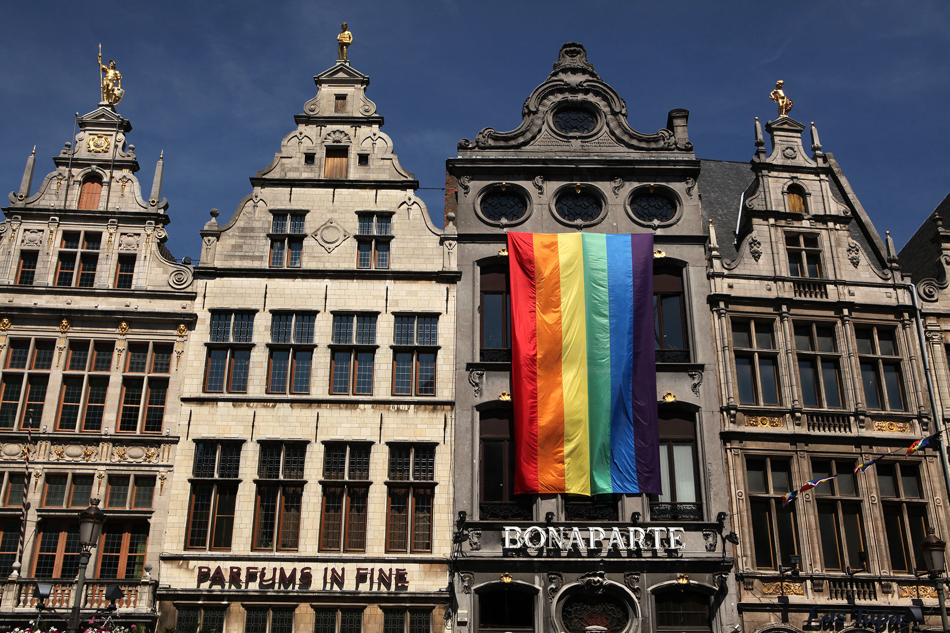 Destination gay d'Anvers