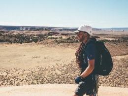 Faire du vélo à la montagne de Moab