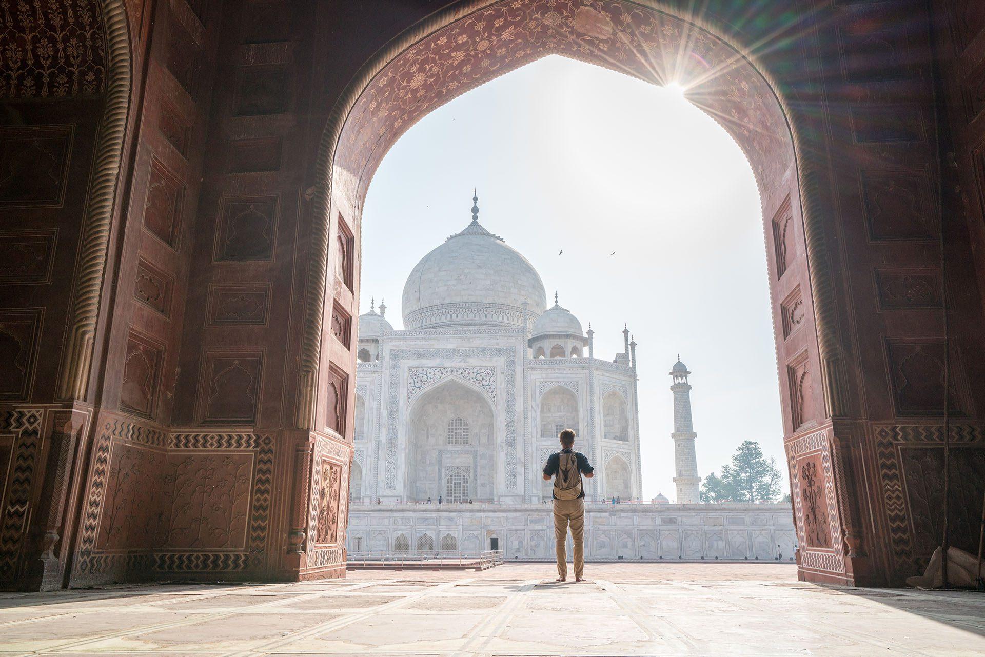 Guide gay du Taj Mahal