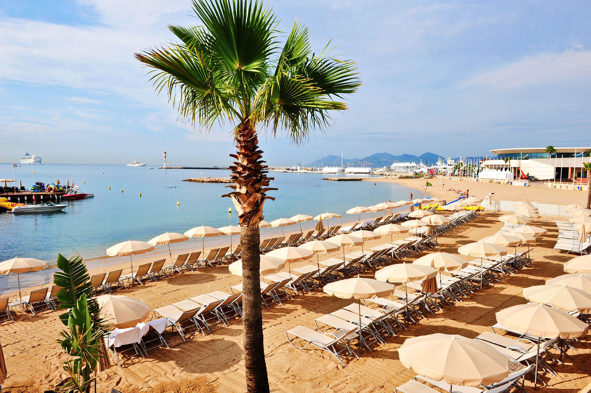 Plage gay de Cannes