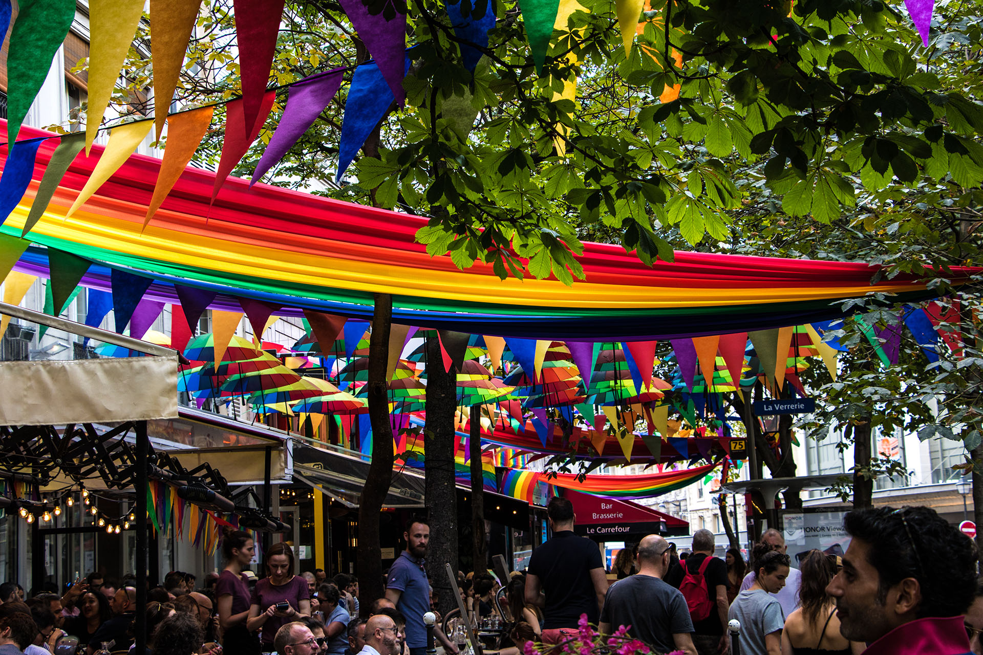 Quartier gay de Paris : le marais