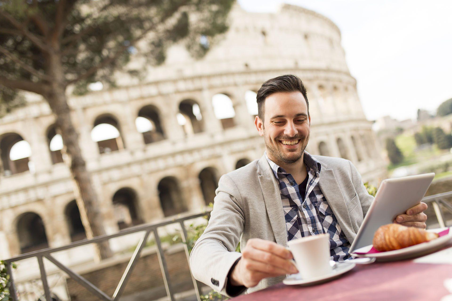 Vacance gay de Rome
