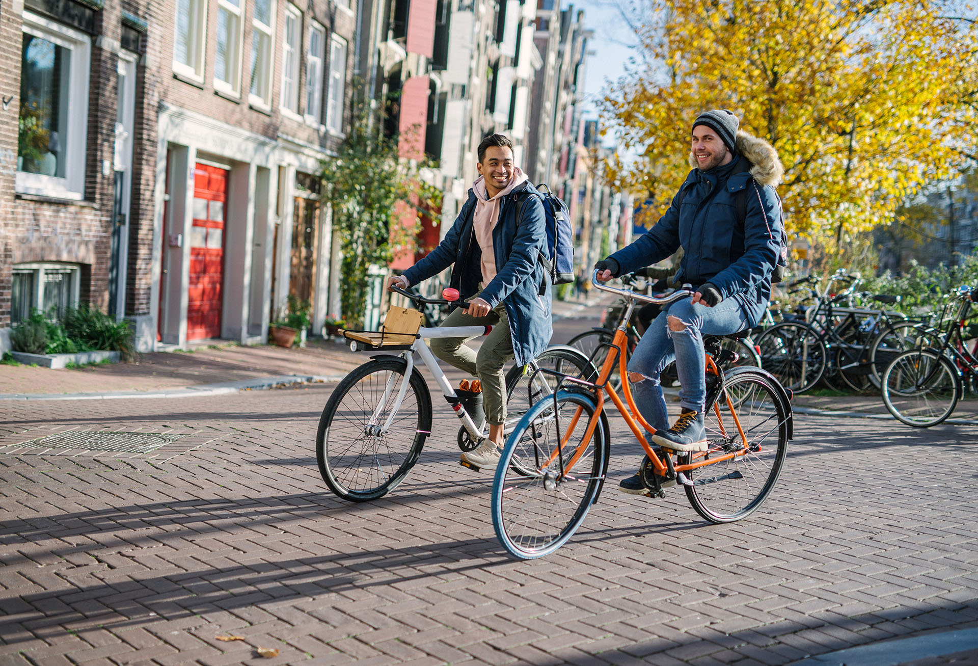 Voyage gay d'Amsterdam