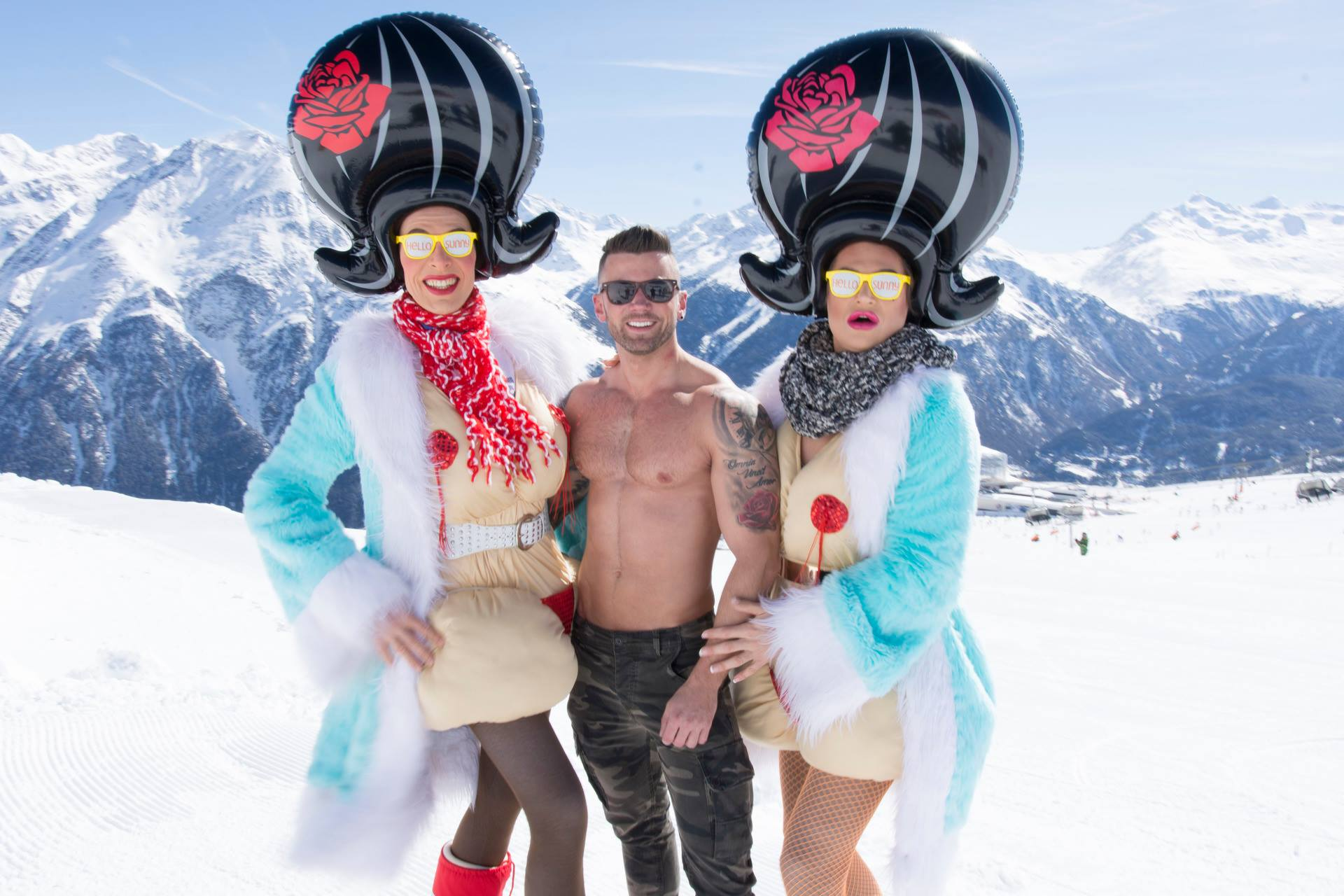 Gay Snow Happening de Sölden, Autriche