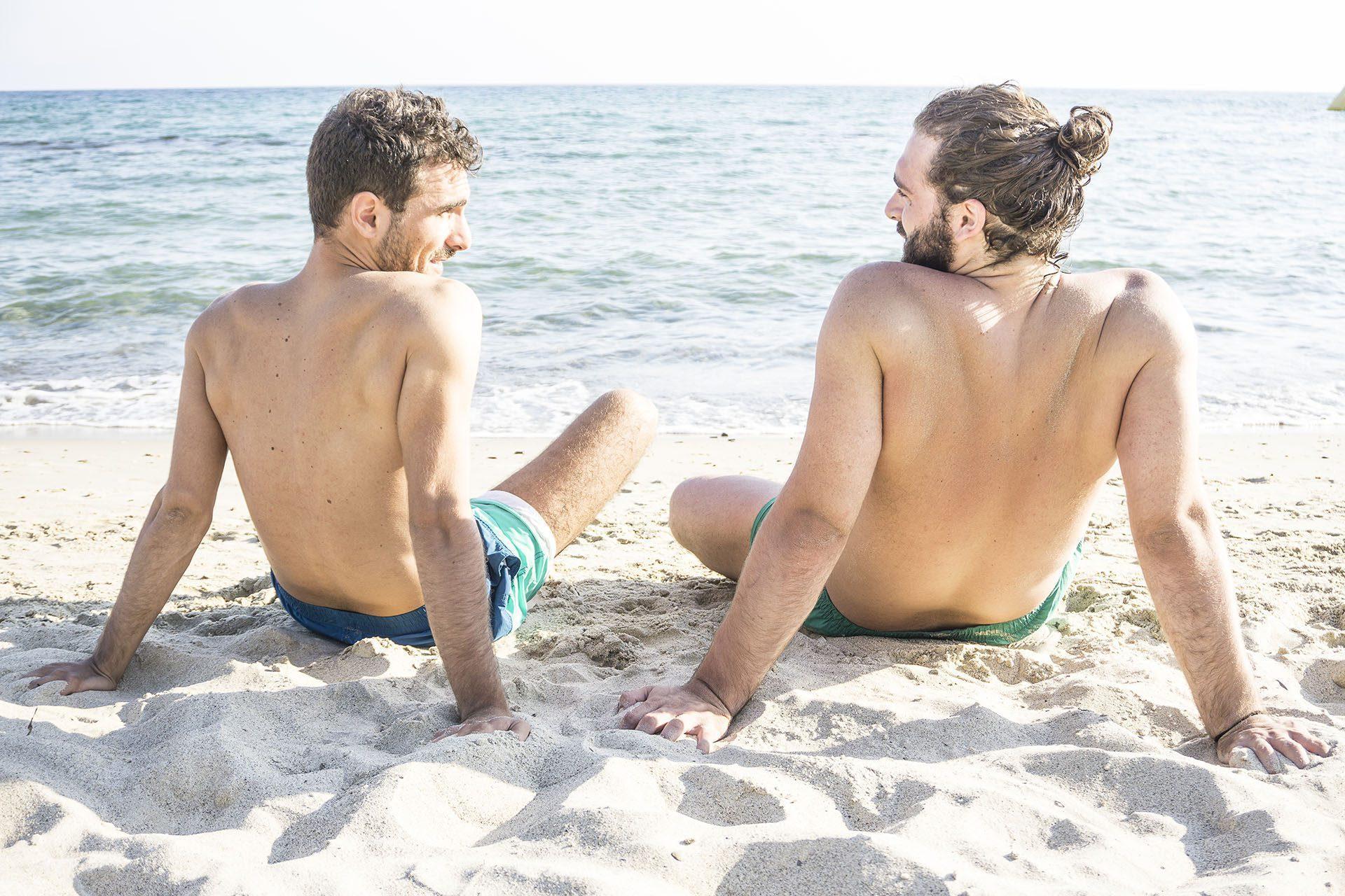 La plage de la Souris-Chaude