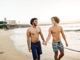 La plage gay de La Réunion