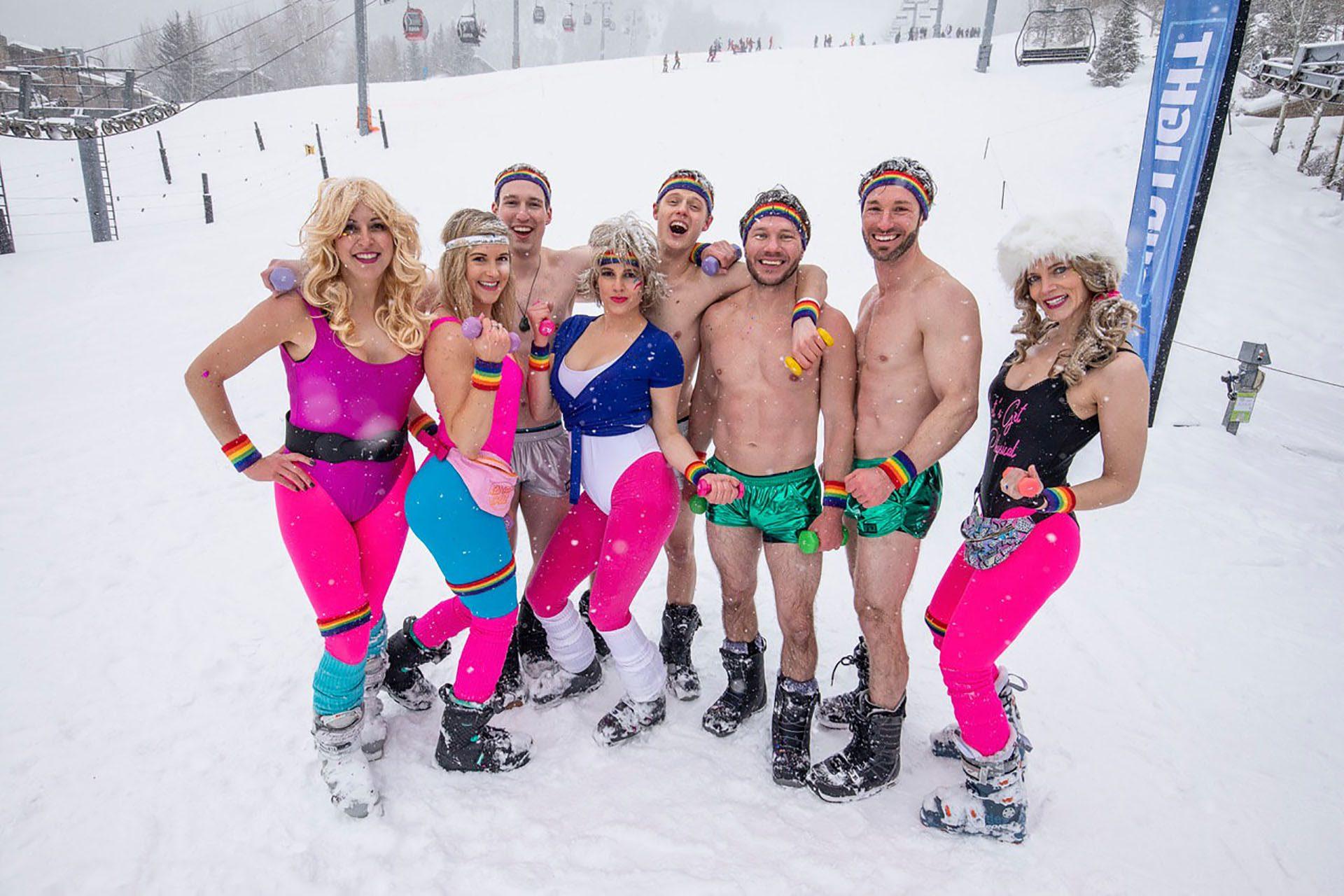 La semaine de ski gay d'Aspen, États-Unis