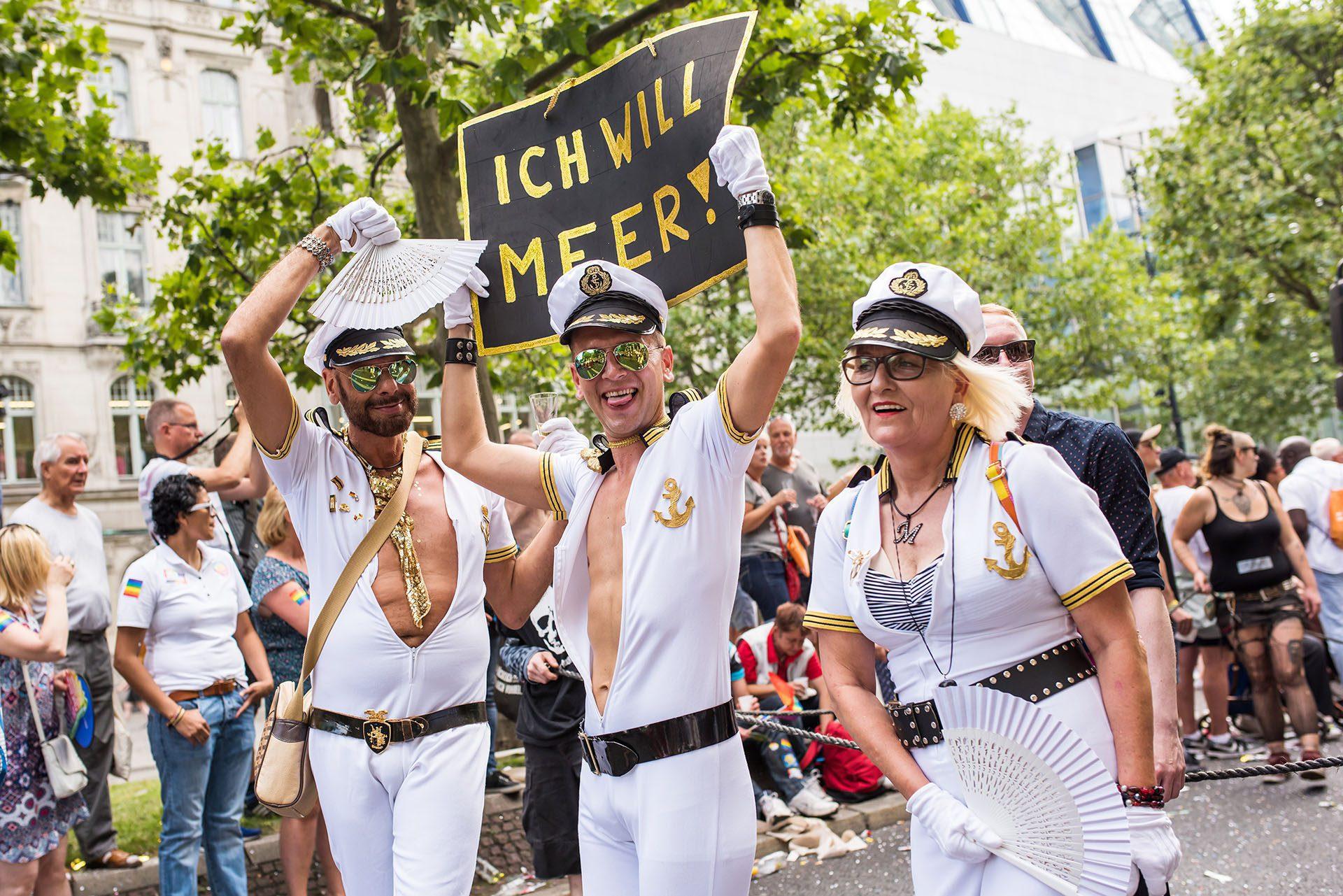 La marche de la fierté gay de Berlin