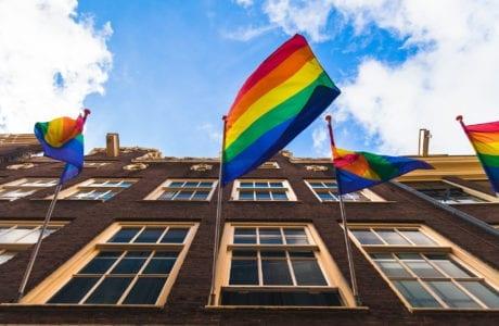 Quartier gay d'Amsterdam