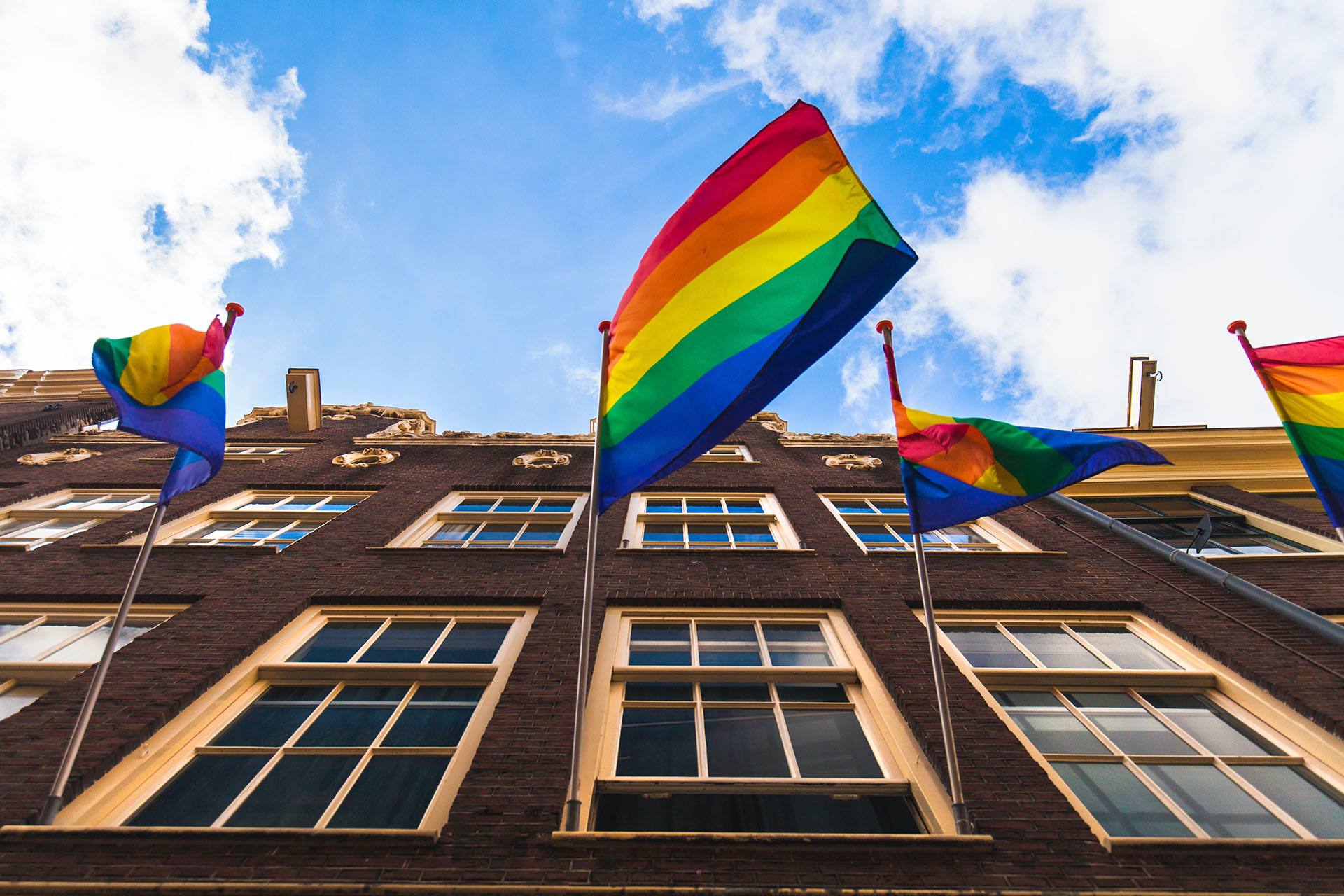 Quartier gay d'Amsterdam