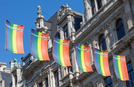 Quartier gay d'Anvers