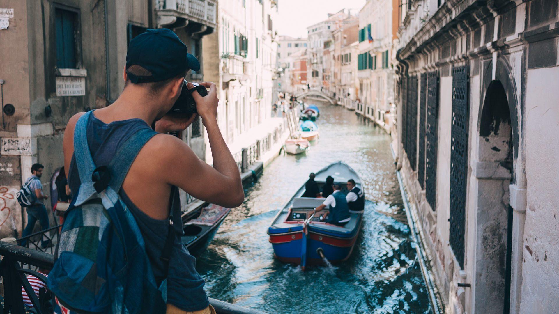Quartier gay à Venise