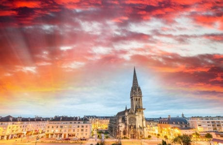 Vacance à Caen