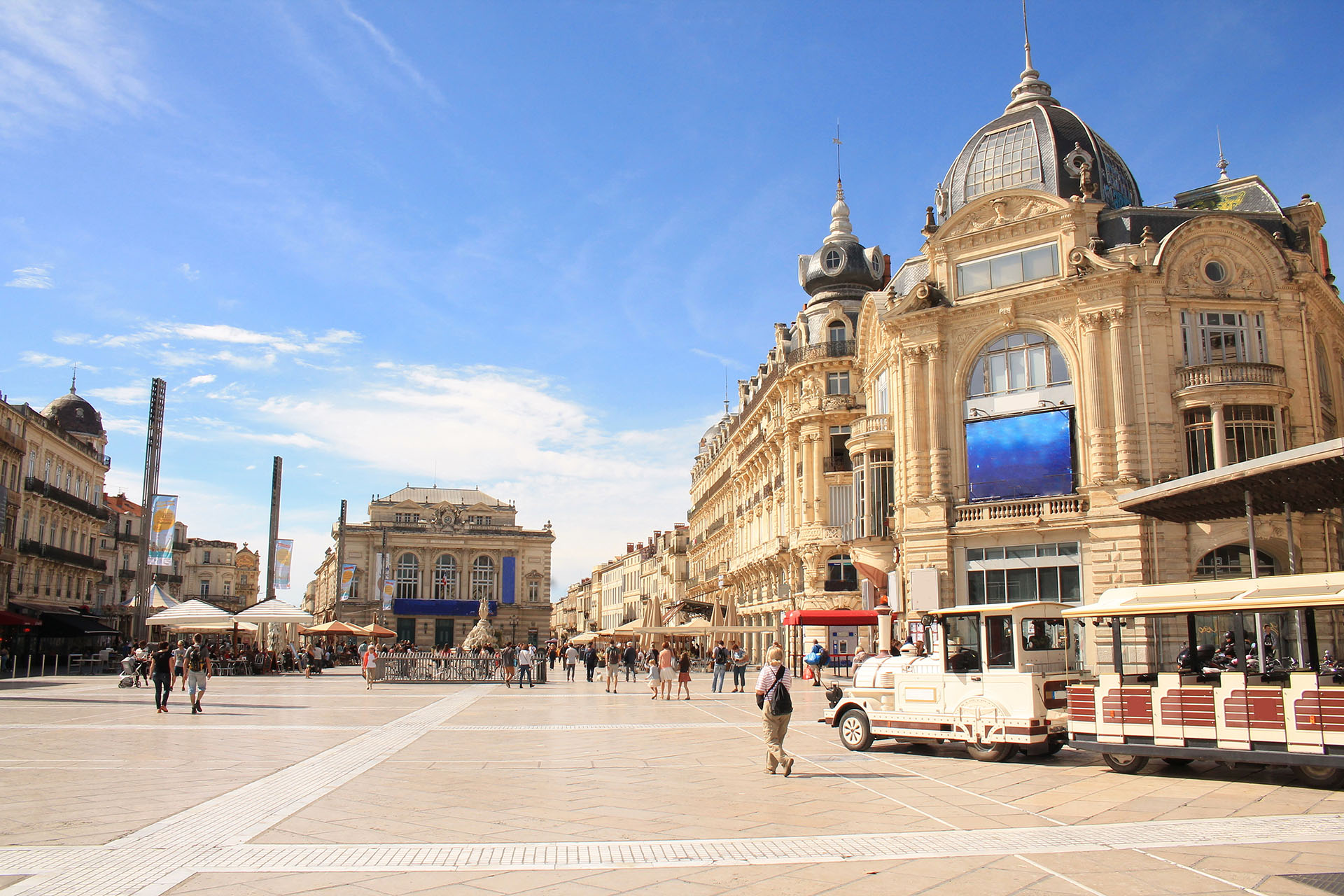 Vacance à Montpellier