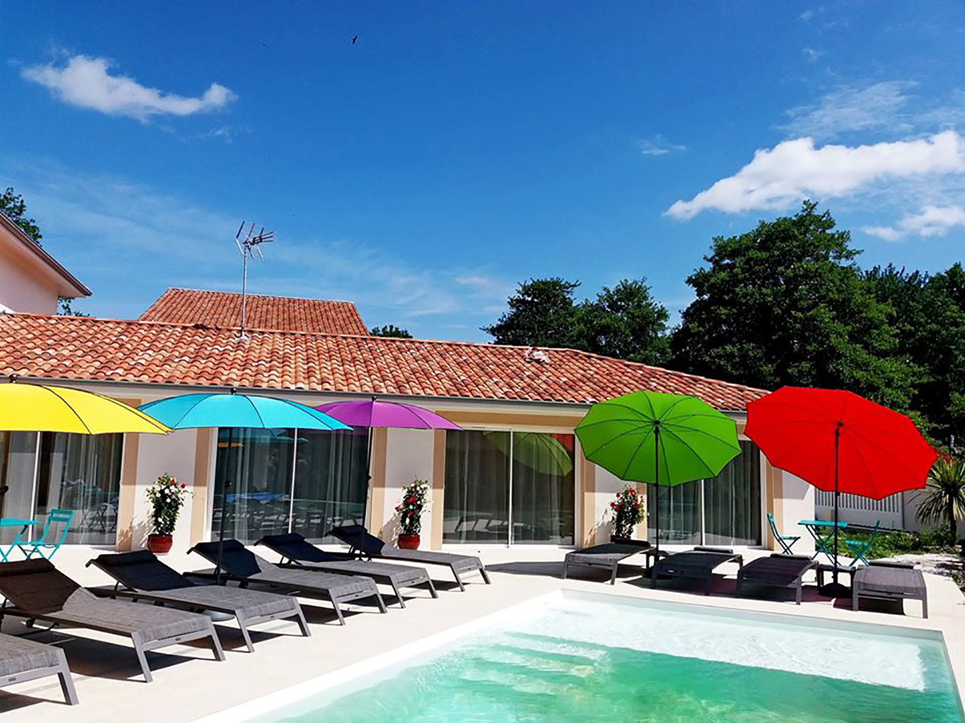 Villa gay friendly à Biarritz