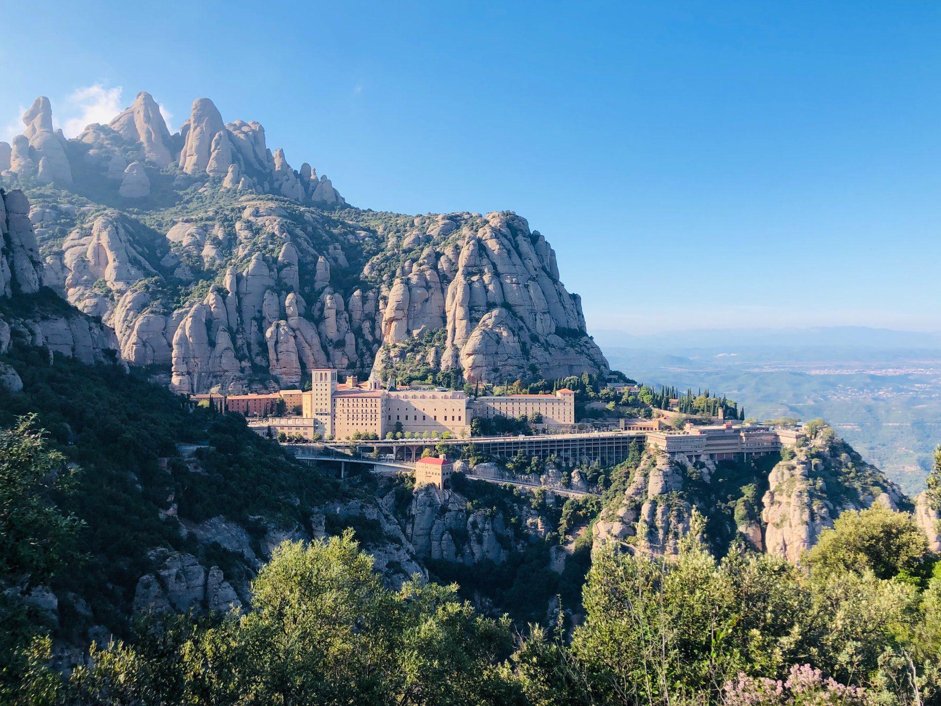 Trajet : Barcelone à Montserrat