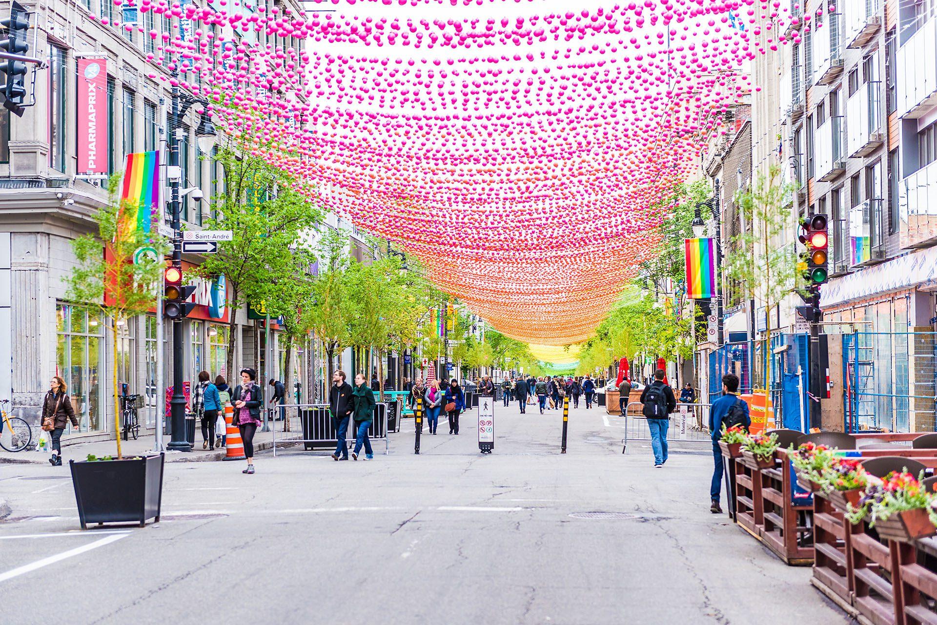 Une virée gay friendly à Montréal