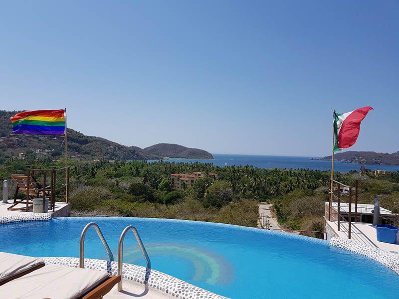 Chambre d'hôtes gay à Zihuatanejo