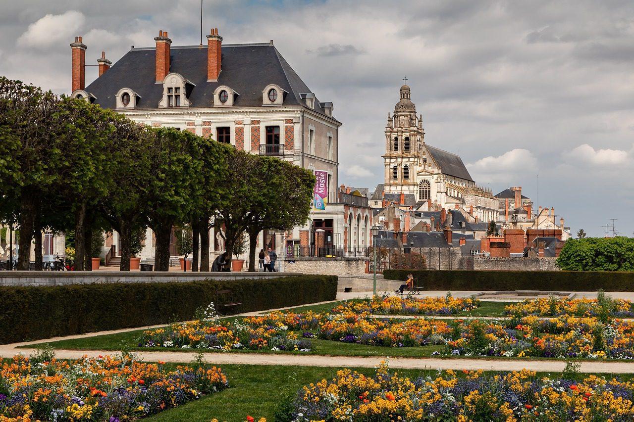 Château et ville de Blois