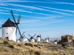 La route de Don Quichotte : le chemin des Moulins à vent légendaires