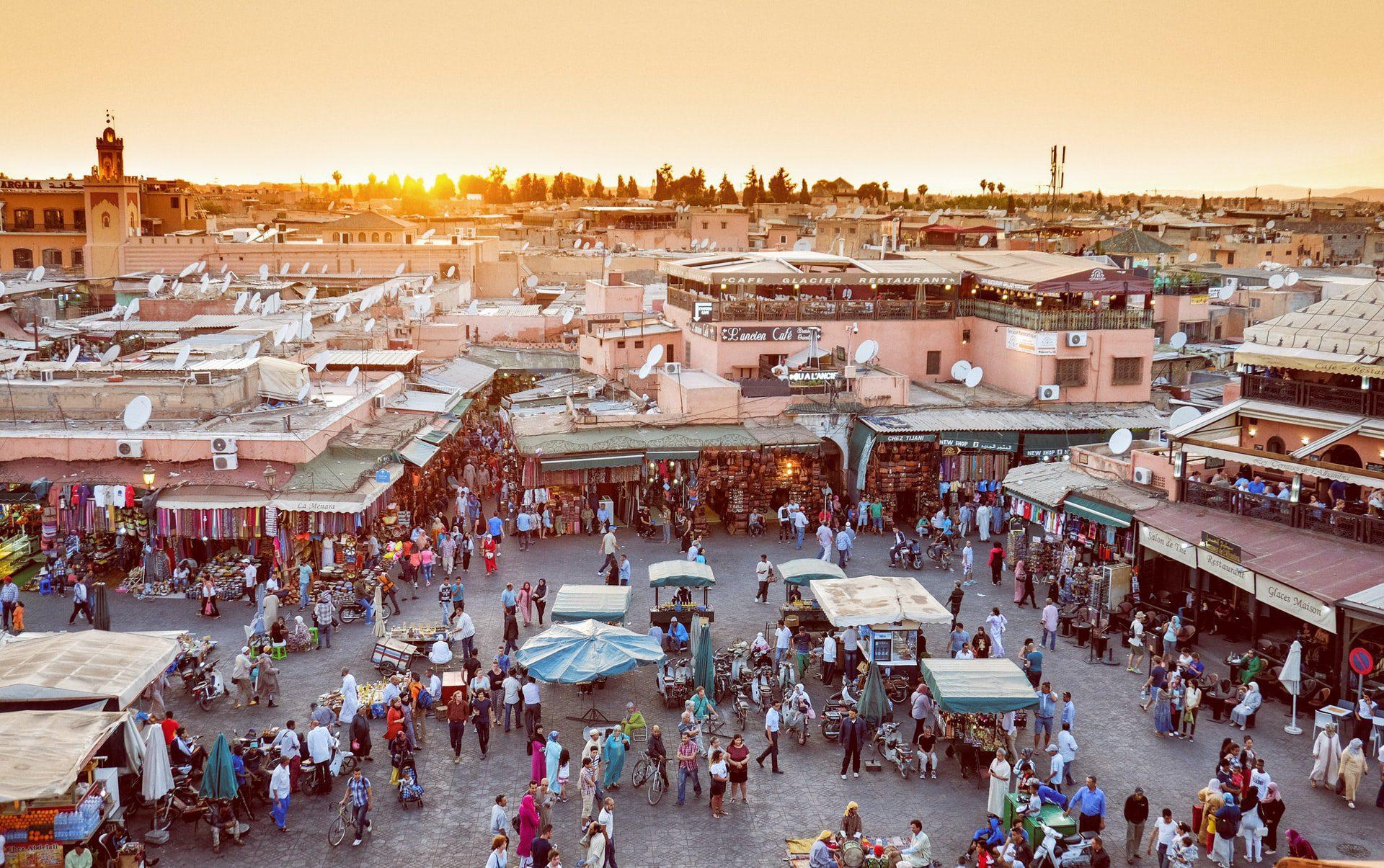 Une visite touristique du Maroc