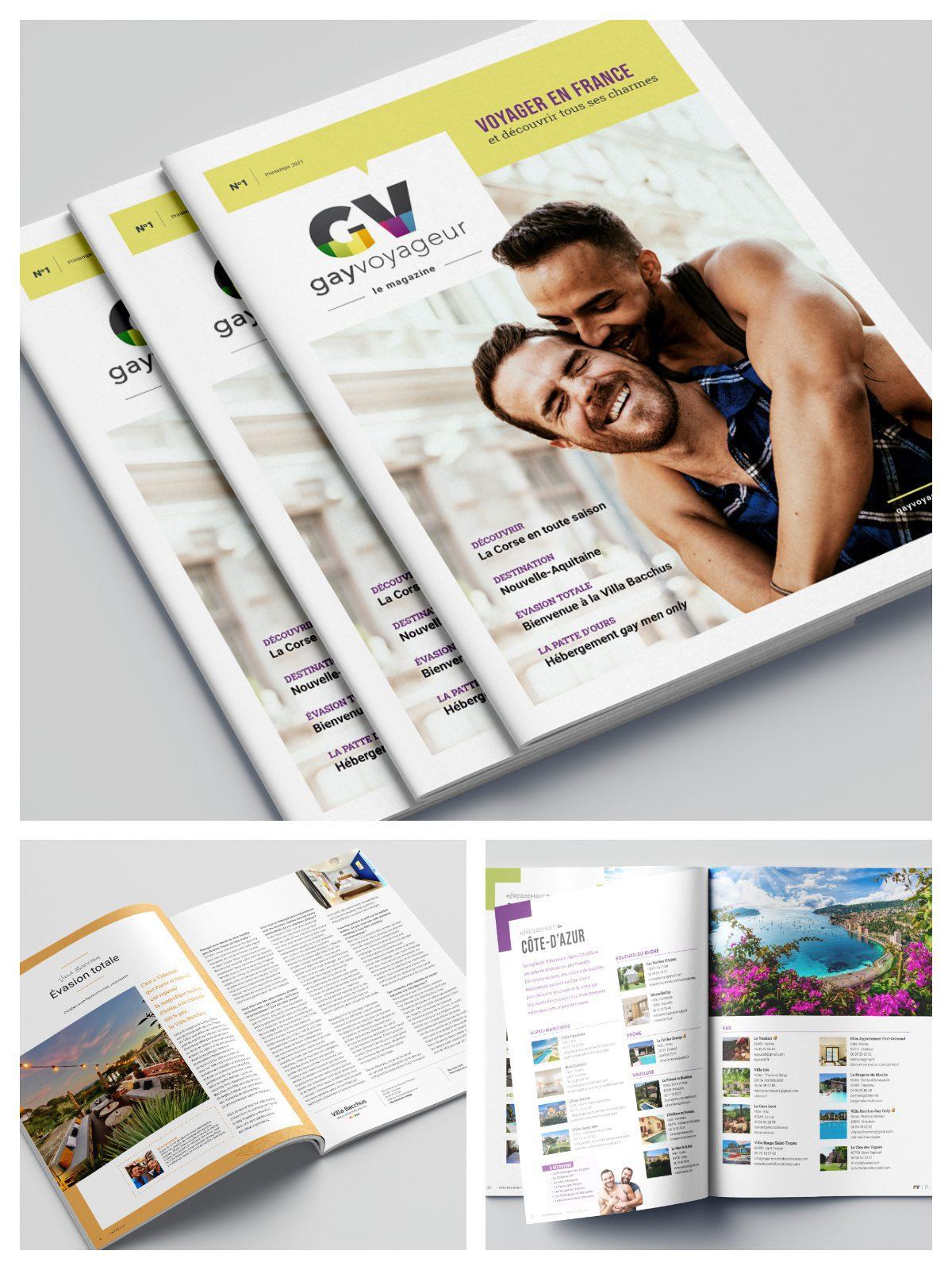 Gay Voyageur - Le Magazine numéro 1
