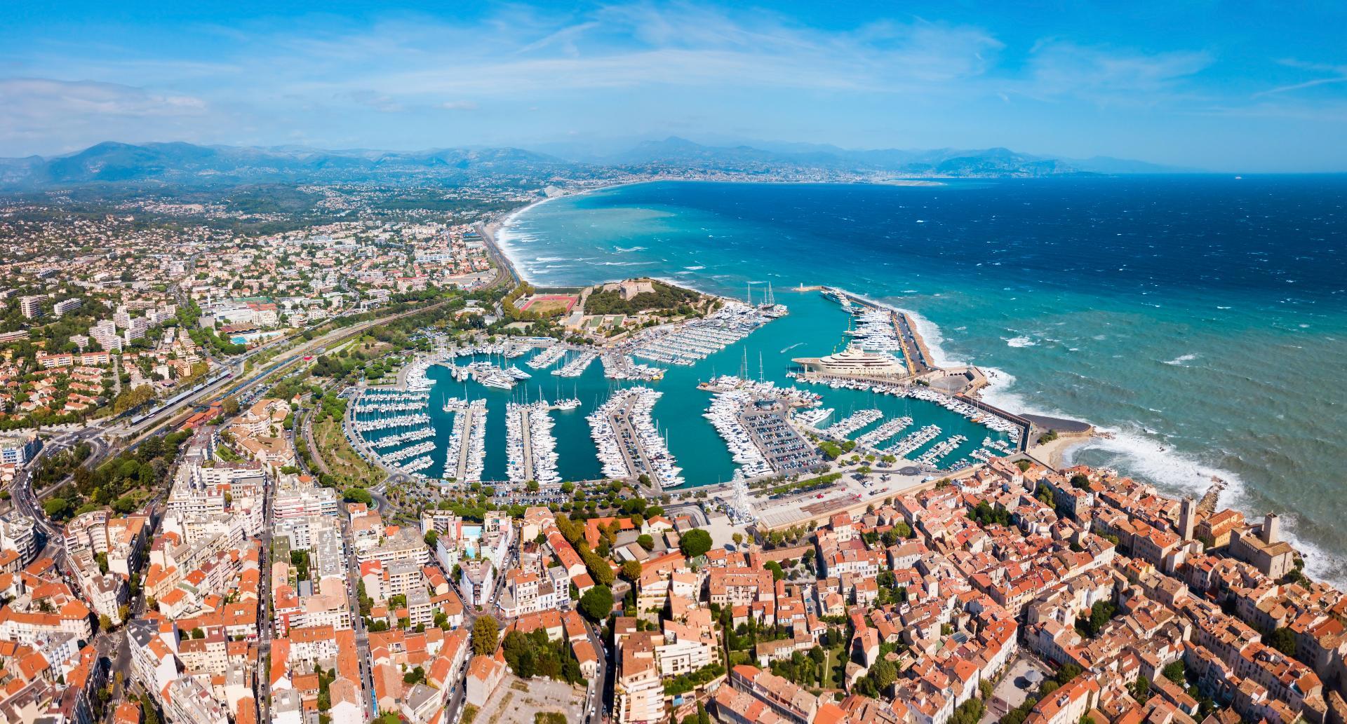 Visitez Antibes sur la Côte d'Azur