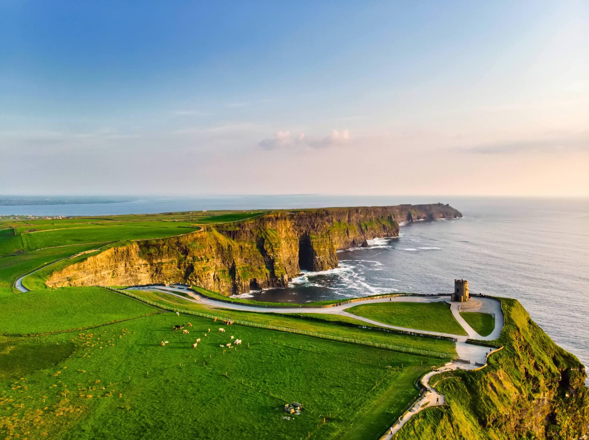 Visitez la magnifique Irlande en été