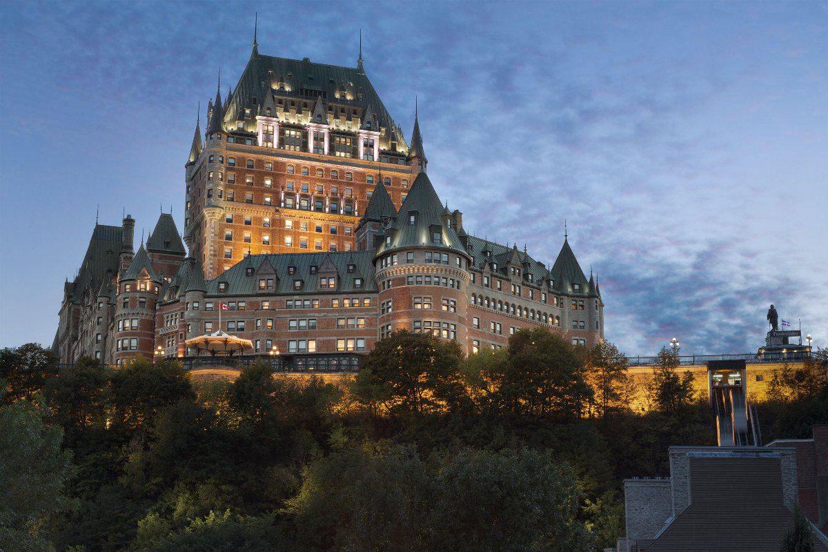 Fairmont Le Château Frontenac hôtel gay de Québec
