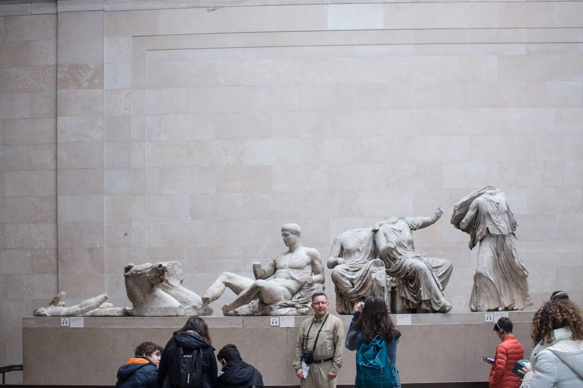 Temps de l'année pour une visite British Museum