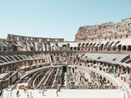 Une visite du Colisée de Rome