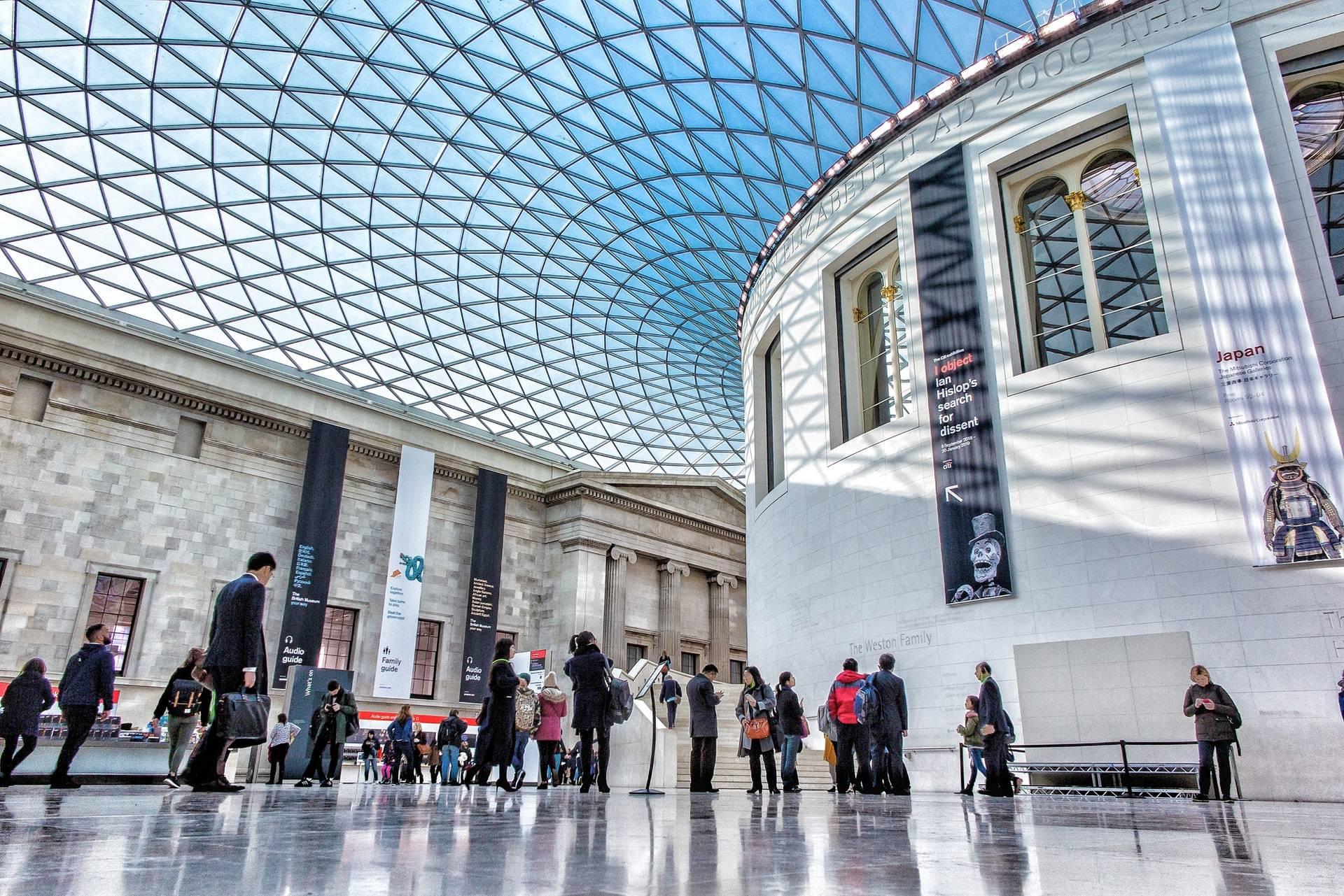 Une visite guidée du musée British Museum au coeur de Londres