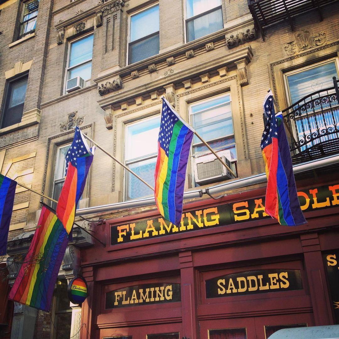 Flaming Saddles New York