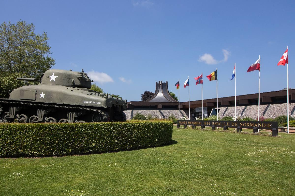 Le Musée mémorial de la Bataille de Normandie