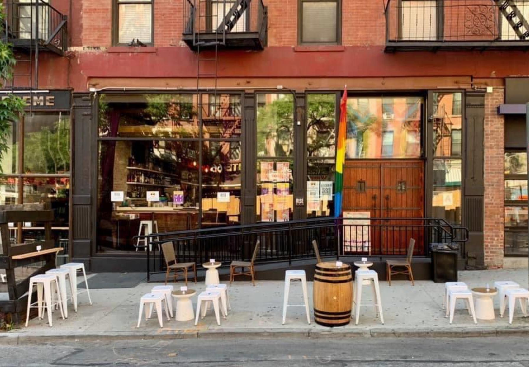 Rise Bar New York