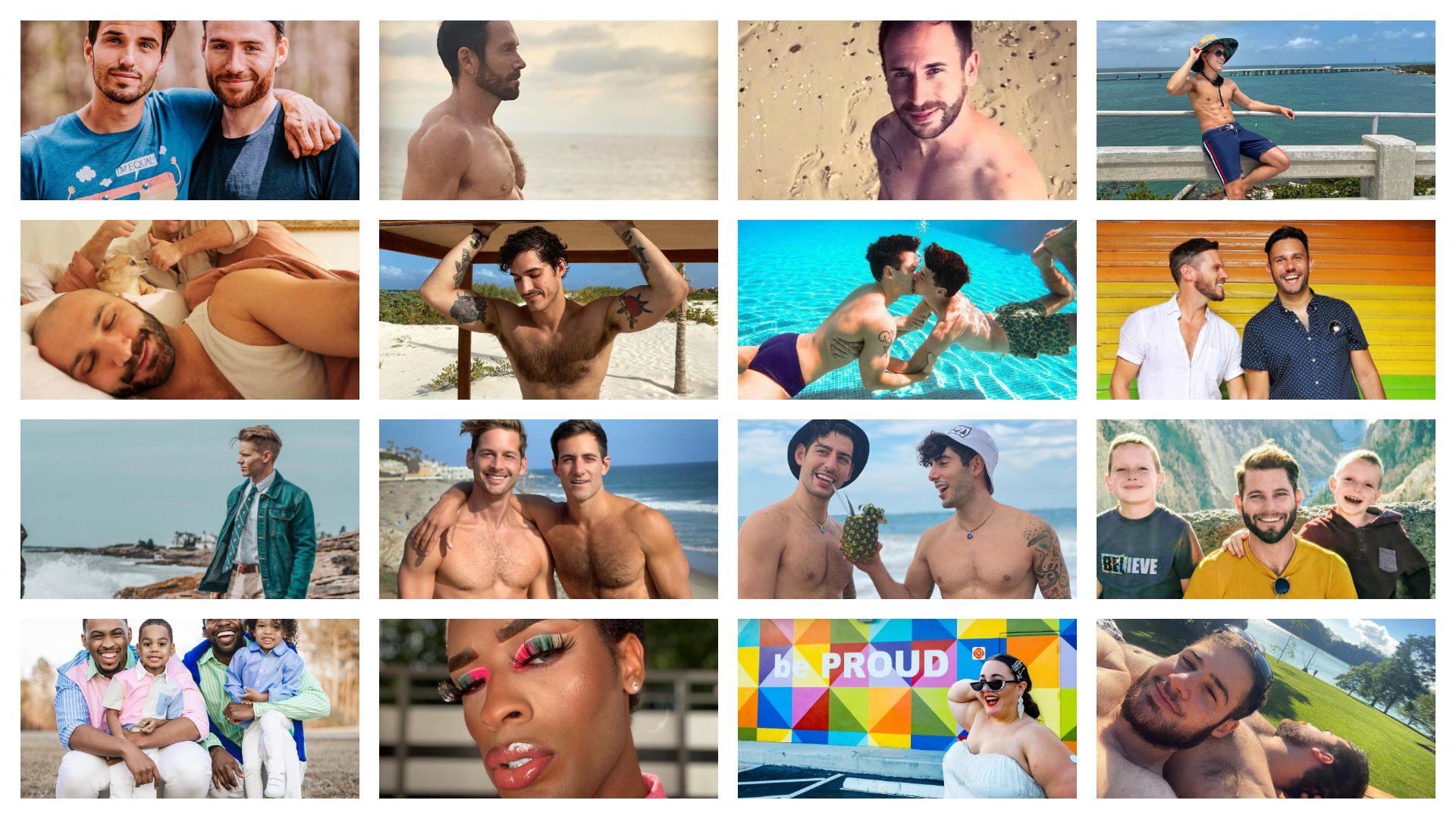 Top 20 des Insgrammeurs gay de voyage