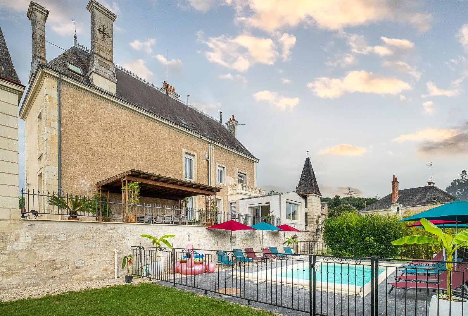 Maison d'hôtes gay friendly à Cravant-les-Côteaux