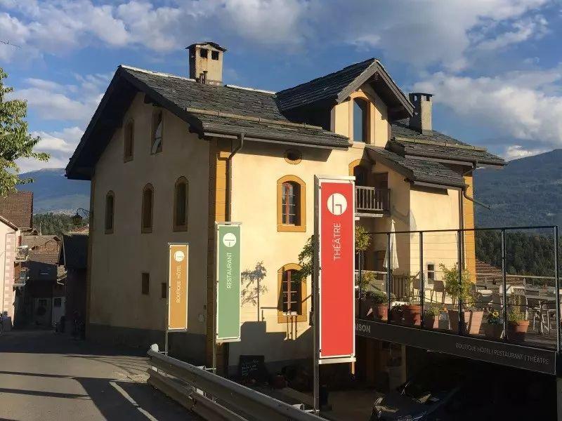 Maison d'hôtes gay à Sion en Suisse