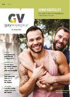 Gay Voyageur - Le magazine numéro 2 papier