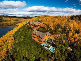 Hôtel Sacacomie : au cœur d'une nature grandiose