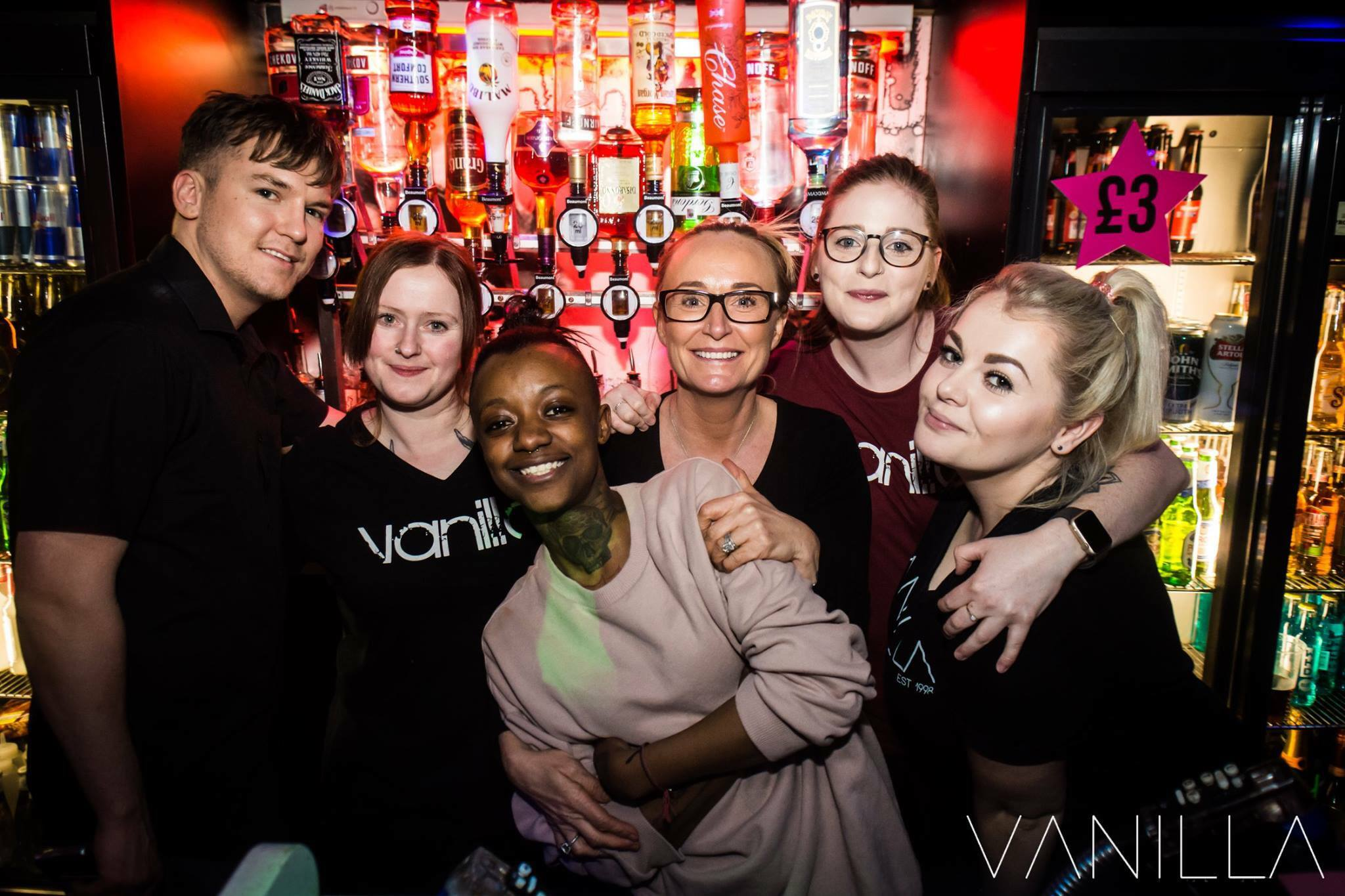 Le Vanilla à Manchester, le représentant de la communauté lesbienne