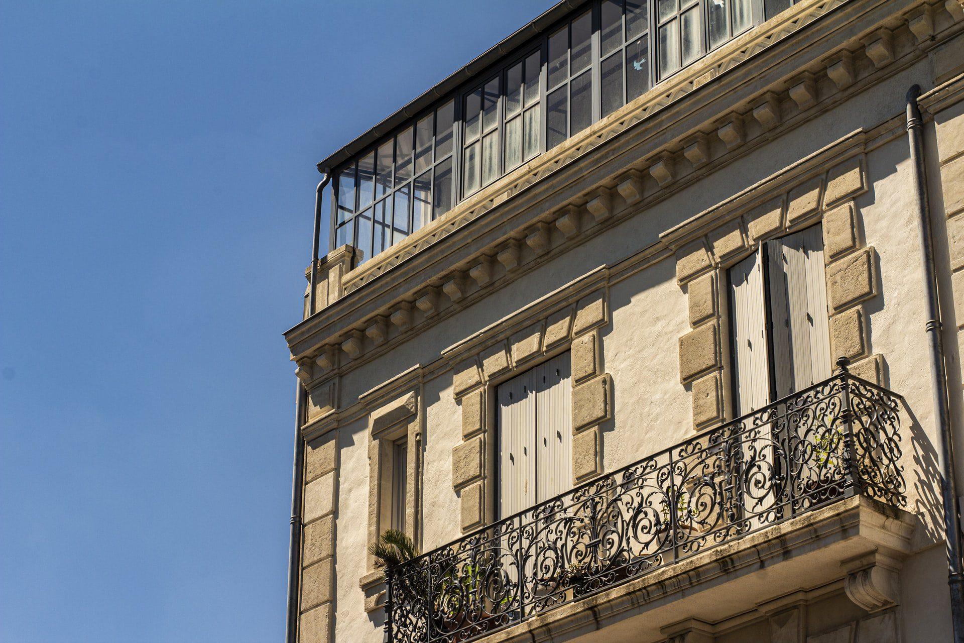 Le centre-ville de Béziers