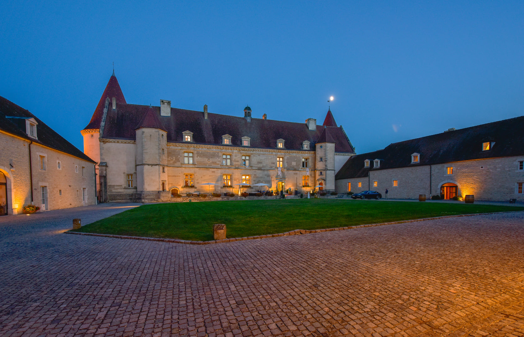 Tout pour votre confort au Château de Chailly