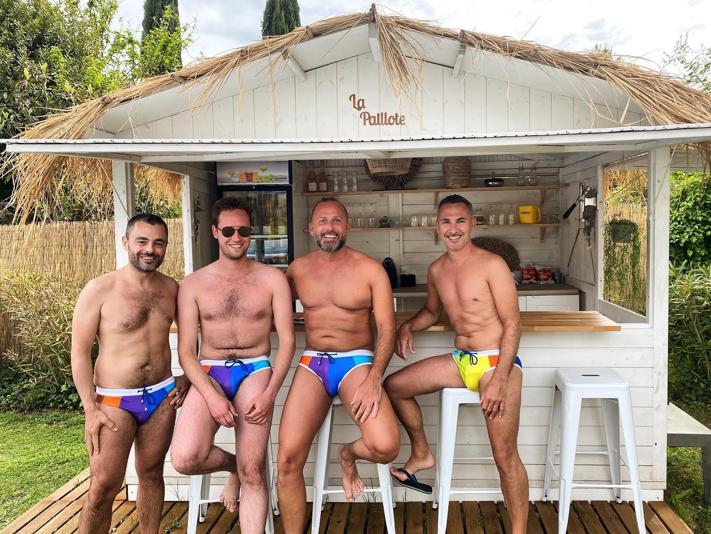 Vous êtes l'une des rares maisons d'hôtes exclusivement gay men only de France, et ça fonctionne! Quel est votre secret?