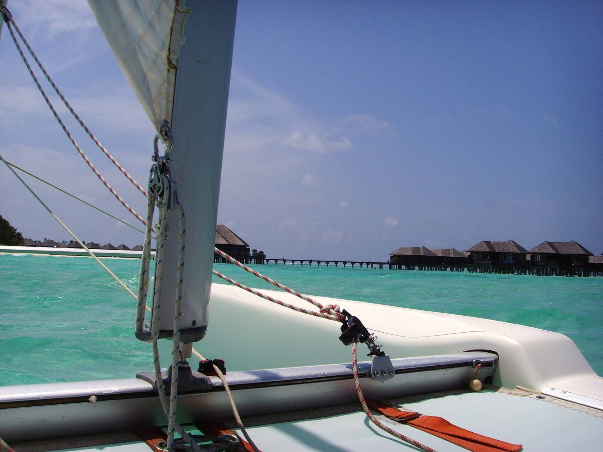 skipper catamaran