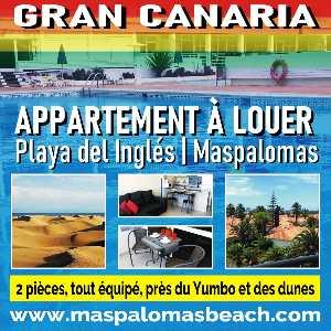 Maspalomas Beach : appartement locatif